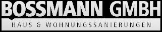 sanieren in Wesel | Bossmann GmbH Logo