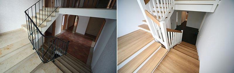 Treppen Erneuern treppenbau wesel einbau umbau sanierung holztreppen und